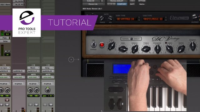 Hands-on Control Of Avid Amps And Stomps Using A MIDI Keyboard