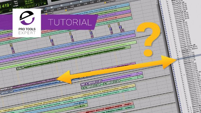 Why Don't Pro Tools Clips In The Clips List And In The Edit Window Always Both Get Selected?