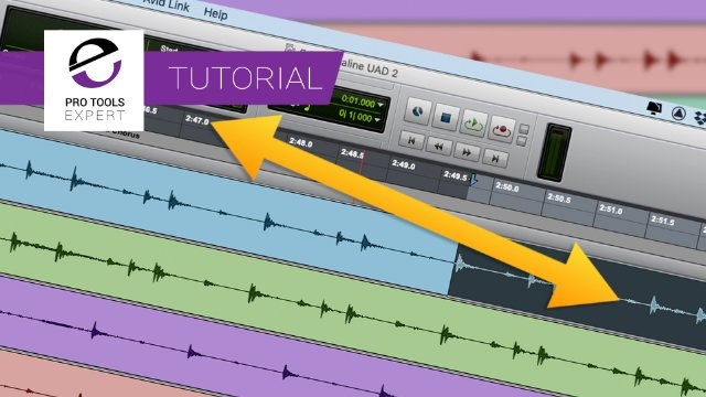 Unlinked Edit And Timeline Selections In Pro Tools Are Easy To Work With With These Handy Shortcuts - Expert Tutorial