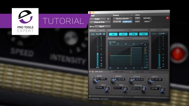 Make Your Own Tremolo In Pro Tools Using Avid Channel Strip - Expert Video Tutorial