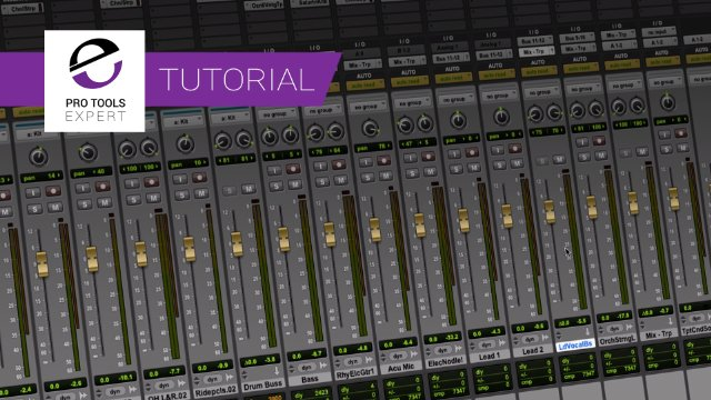 Use Pro Tools Trim Read Automation To Finesse Your Mixes