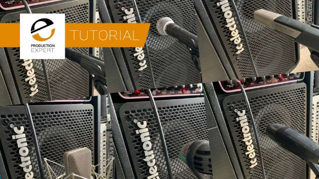 Mixing Bass Using DI, Amp Sim And Microphones - Expert Tutorial