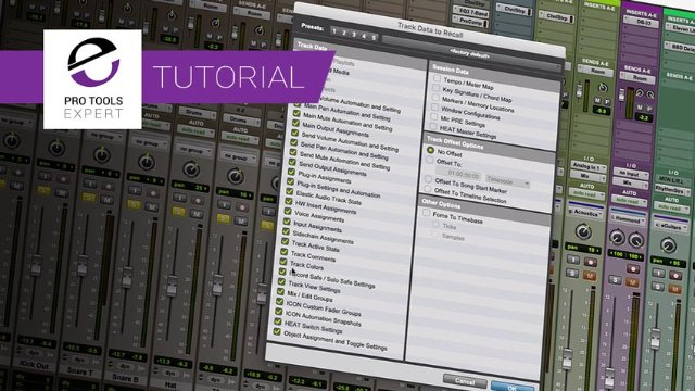 Track Presets And Trimming Automation