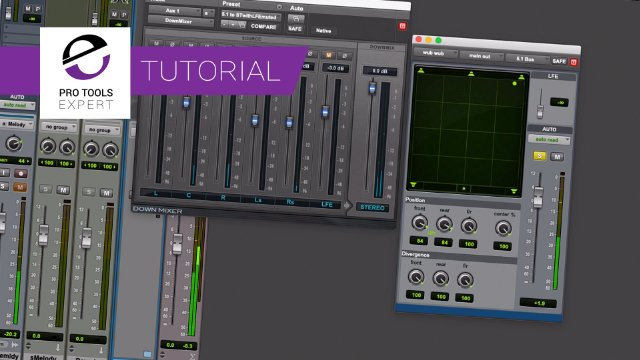 Create Tempo Synced Panning In A Stereo Session Using Autoglide