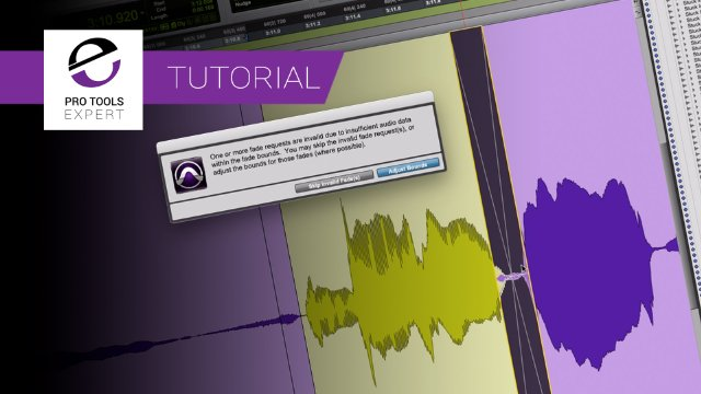 Pro Tools Fades - Beyond the Smart Tool