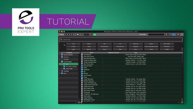 Workspace Browser - Expert Tutorial