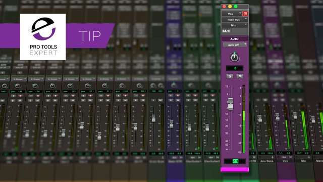 How To Type In Fader Values In Pro Tools - Free Tip