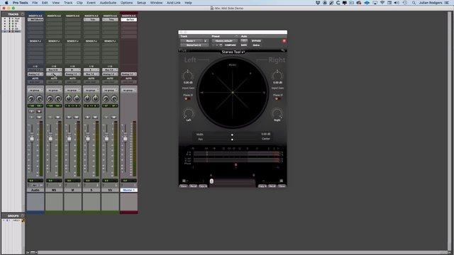 Mid Side Processing Using Just The Pro Tools Mixer