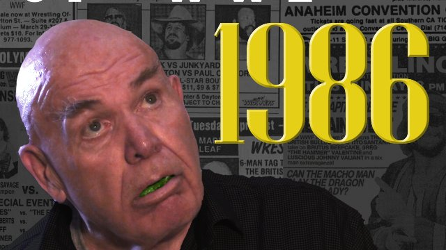 "Timeline: The History of WWE - 1986 - Told by George ""The Animal"" Steele"