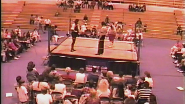 Southern States Wrestling Fan Cam Princeton, WV Dec. 2, 1995