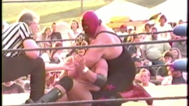 Classic Match The Masked Superstar vs. The Iron Cross