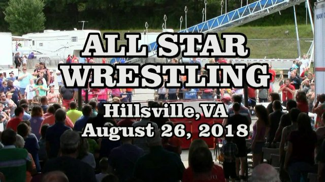 All Star Wrestling with SSW Stars at The Carroll County, VA Fair