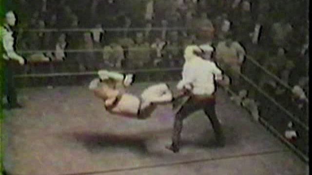 Rare Historic 1970s East Tennessee Wrestling  Film Clips
