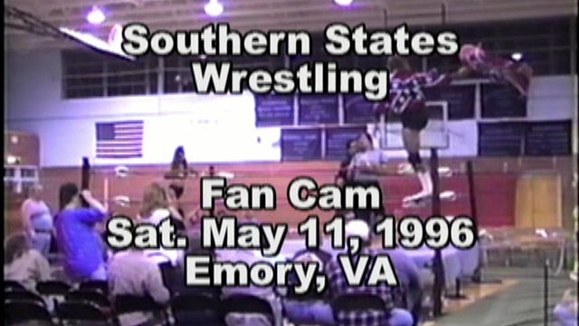 Southern States Wrestling Fan Cam Emory, VA May 11, 1996