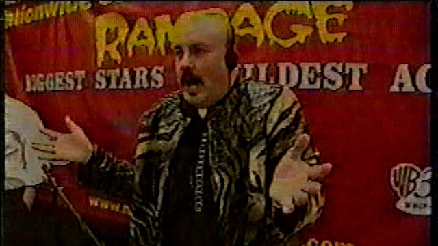 Nationwide Championship Wrestling Rampage TV May 31 2001