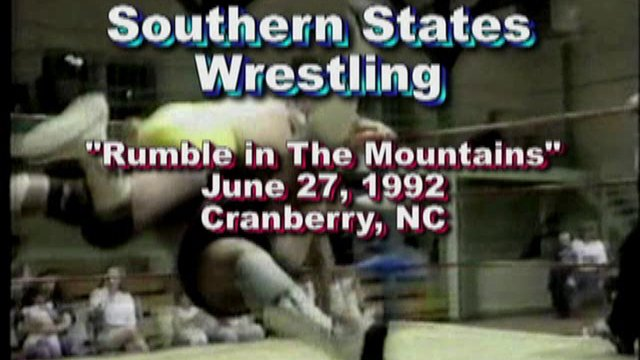 "Southern States Wrestling ""Rumble in The Mountains"" June 27, 1992"