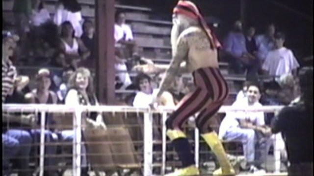 Southern States Wrestling Fan Cam Dickson, TN Sept. 11 1995