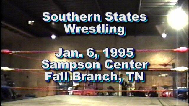 Southern States Wrestling Jan. 6, 1995
