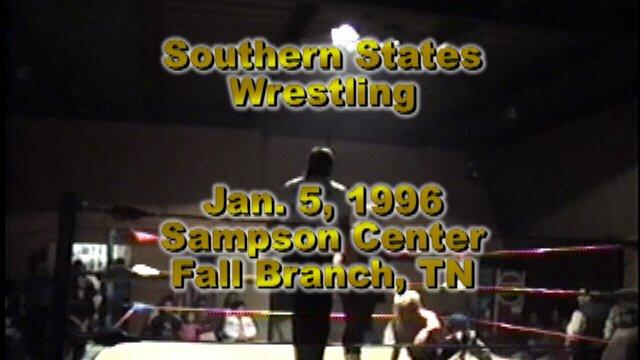Southern States Wrestling Jan. 5 1996