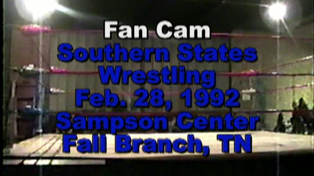 Southern States Wrestling Feb. 28, 1992