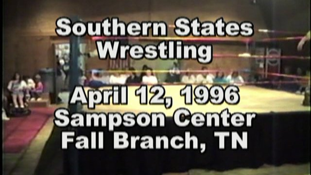 Southern States Wrestling April 12, 1996 Fall Branch, TN
