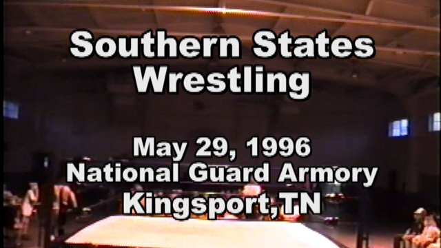 Southern States Wrestling Kingsport, TN May29, 1996