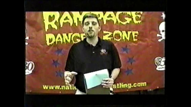Nationwide Championship Wrestling Rampage TV June 14 2001