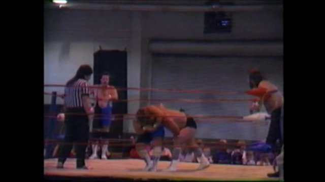 Southern States Wrestling Kingsport, TN Oct. 27 1991