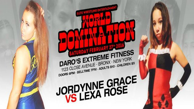 EWE Domination -  Jordynne Grace vs Lexa Rose