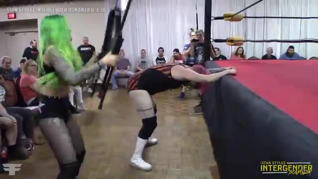 The Stan Stylez Intergender Bonanza 08-03-18 No DQ Match Shotzi Blackheart vs Tripp Cassidy