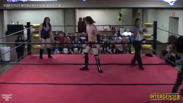 The Stan Stylez Intergender Bonanza 08-03-18 Marc Angel vs Ty Awesome vs Raena Skye