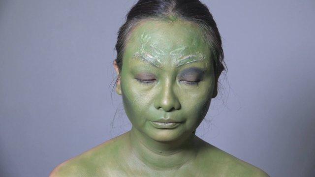 Makeup Film Character - Super Hero (Gamora)