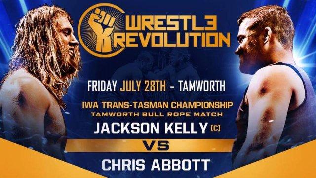 FREE MATCH: IWA Trans-Tasman Championship Tamworth Bullrope Match - Jackson Kelly (c) vs 'Cowboy' Chris Abbott (29/07/17)