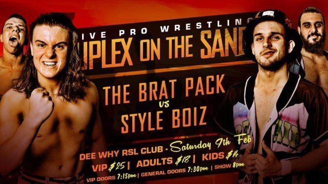 FREE MATCH: Style Boiz vs The Brat Pack - IWA Suplex On The Sand 3 (09/02/19)