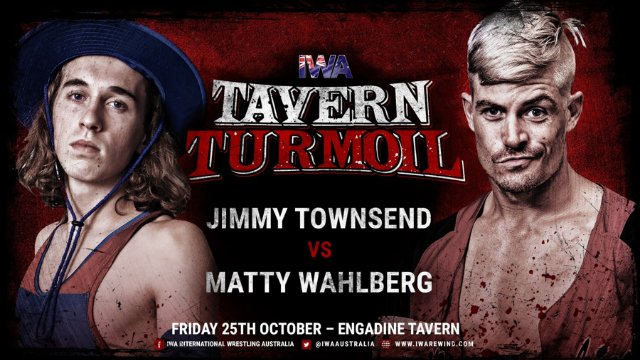 FREE MATCH: Matty Wahlberg vs Jimmy Townsend - IWA Tavern Turmoil (25/10/19)