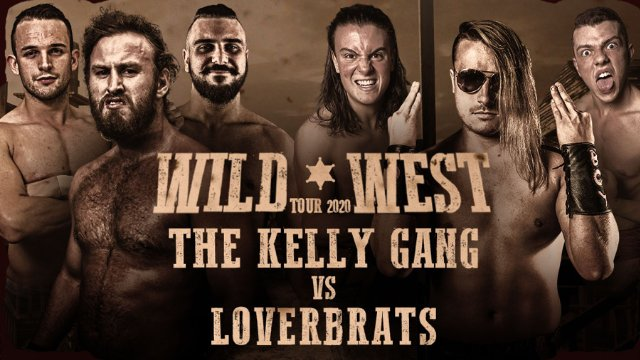FREE MATCH: 6-Man Elimination Tag Team Match - The Kelly Gang vs The LoverBrats - IWA Wild West Tour (15/06/19)