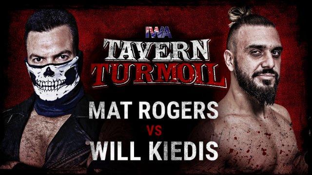 Will Kiedis vs Mat Rogers - Engadine Street Fight - IWA Tavern Turmoil