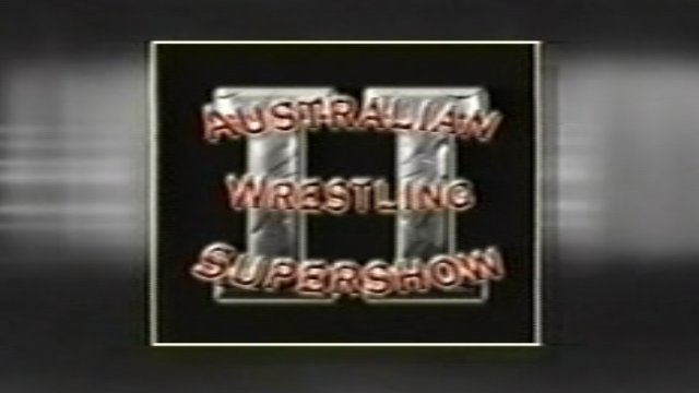 Australian Wrestling Supershow II (29/11/03)