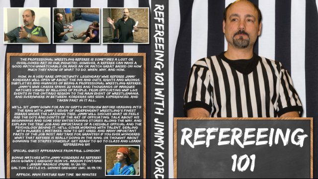 Refereeing 101 with Jimmy Korderas