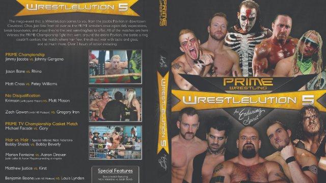 PRIME Wrestlelution 5: An Enduring Spirit