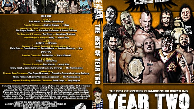 Best of Premier Championship Wrestling - Year Two