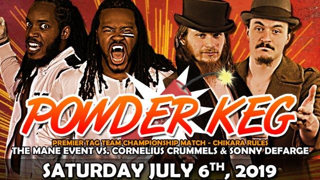 "Premier Championship Wrestling ""Powder Keg"" 2019"