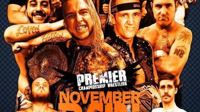 """Premier Wrestling """"November Pain"""" 2019"""