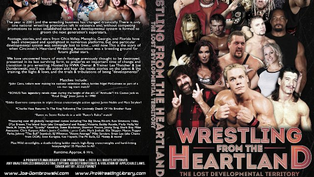 Wrestling From The Heartland: The Lost Developmental Territory Volume 1