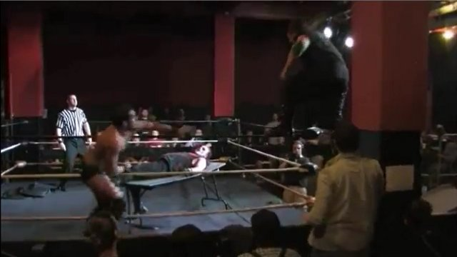 LOST PWO/PRIME TV #188: Krimson vs. Rickey Shane Page (PRIME Title Table Match)!