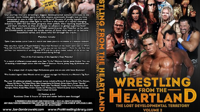 Wrestling From The Heartland: The Lost Developmental Territory Volume 2