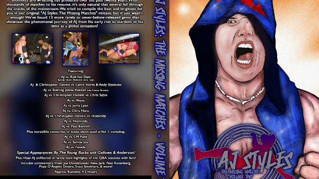 AJ Styles: The Missing Matches Volume 2