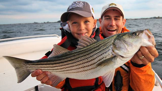 Light Tackle Striper: Teaching the Next Generation