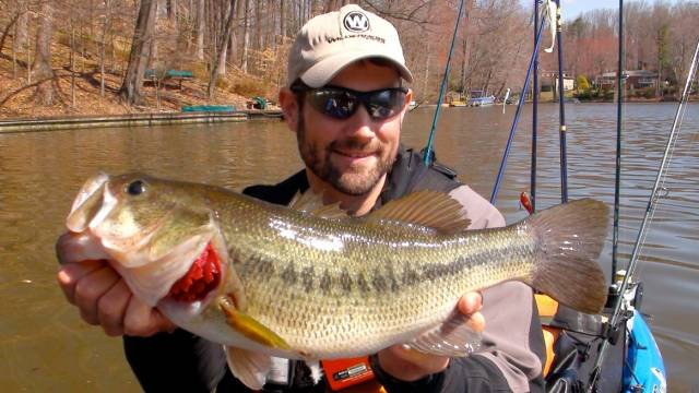 Early Spring Reservoir Largemouth: Protection From the NW Wind