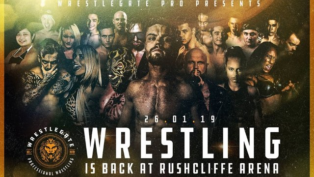 WrestleGate Pro Open Gate - Jan '19
